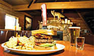 Sasquatch Burgers Draw Patrons to Aaron May's The Lodge