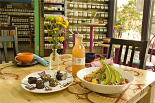 Feel-good food: From veggie-packed salads to organic chocolate truffles, Chakra 4 Herb & Tea House has plenty of guilty pleasures.