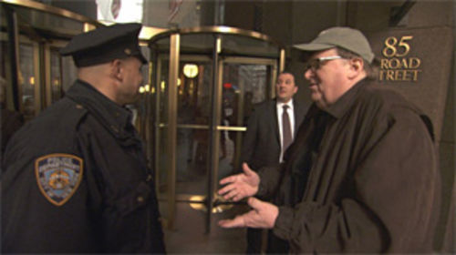 Old hat: Michael Moore's brand of agitprop in Capitalism: A Love Story doesn't feel fresh anymore.