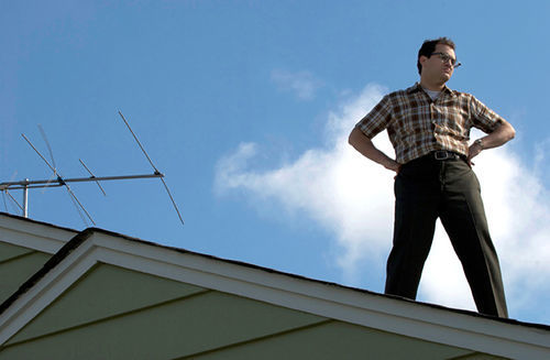 Looking down on their own: Michael Stuhlbarg suffers numerous tortures from Joel and Ethan Coen in their latest, A Serious Man.
