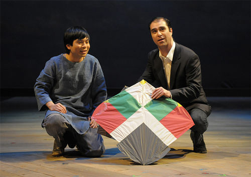 Lowell Abellon and Barzin Akhavan soar in The Kite Runner.