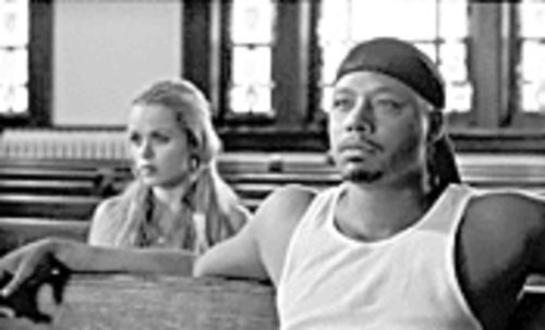 Taryn Manning and Terrence Howard star in Hustle & Flow, which set a sales record at the Sundance Film Festival.
