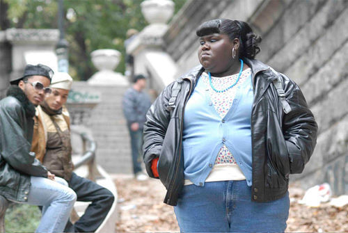 Precious hell: There are no slumdog millionaires in Gabourey Sidibe's world.