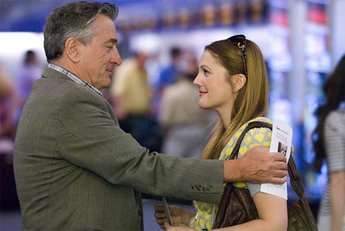 Road trip to nowhere: Robert De Niro and Drew Barrymore in Everybody's Fine.