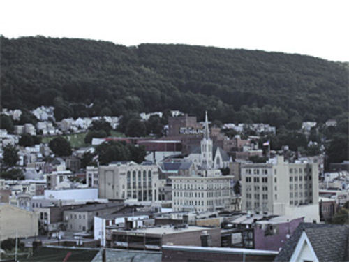 Pottsville, Pennsylvania, population 16,000, home of the 1925 team that inspired talk of the curse.