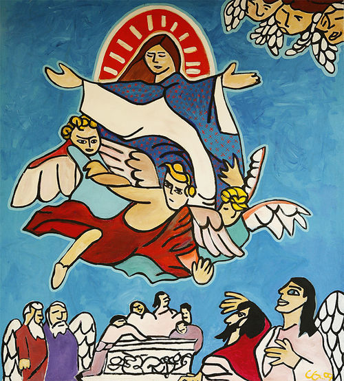 """Way after"" series: Assumption of Mary II"