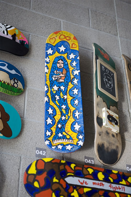 Virgin Mermaid Skate Deck
