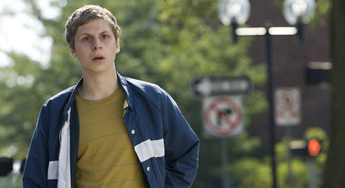 Michael Cera acts like Michael Cera in Youth in Revolt.