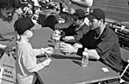 Make memories -- and memorabilia -- to last a lifetime at the Spring Training Fan Fest.