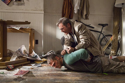Mad Mel: Gibson aims for a gut shot in the revenge movie Edge of Darkness.