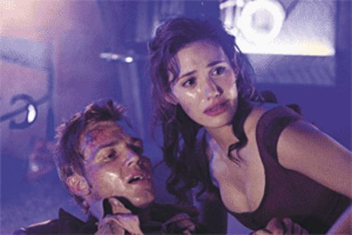There's got to be a morning after .  .  . or at least another remake of a '70s disaster movie: Mike Vogel and Emmy Rossum fight for their lives in Poseidon.
