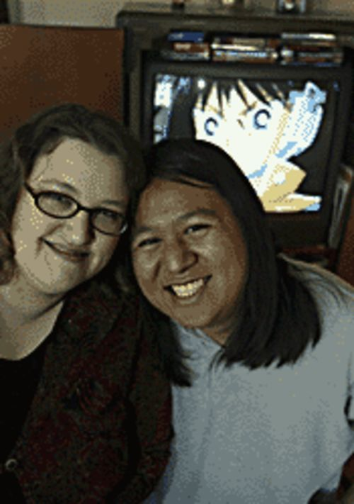 Christina and Carlos Ross are Bambi-eyed over anime.
