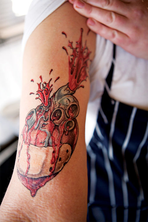 FnB sous chef Sacha Levine wears her heart on her sleeve.