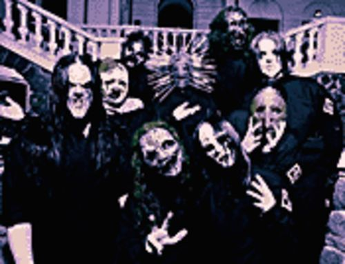 Return of the mask: Slipknot stages a grindcore freak show.