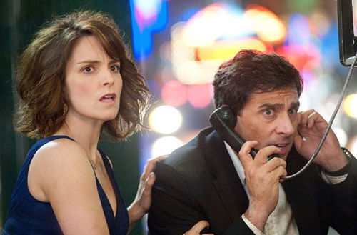 Domestic disturbance: Tina Fey and Steve Carell are on the run in Date Night.