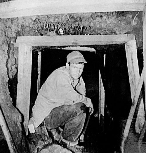 Ron Feldman's family re-opened a mine dug in Tonto National Forest after studying notes left by Ted Cox.