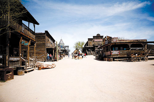 Goldfield Ghost Town is one of several Apache Junction tourist traps trading on the legend.