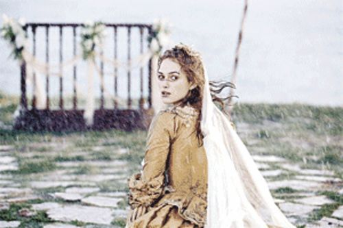 Damsel in distress: Keira Knightley is back as Elizabeth Swann in Pirates of the Caribbean: Dead Man's Chest.