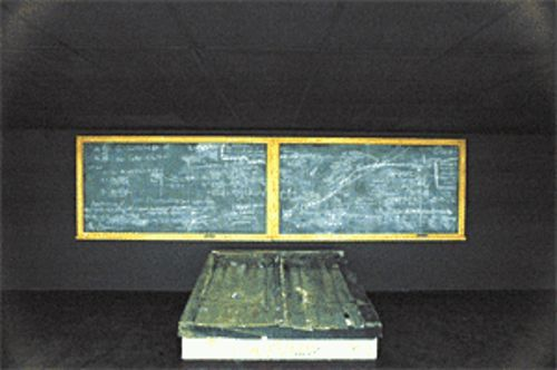 "Chalkboard in ""Inner Equations"""