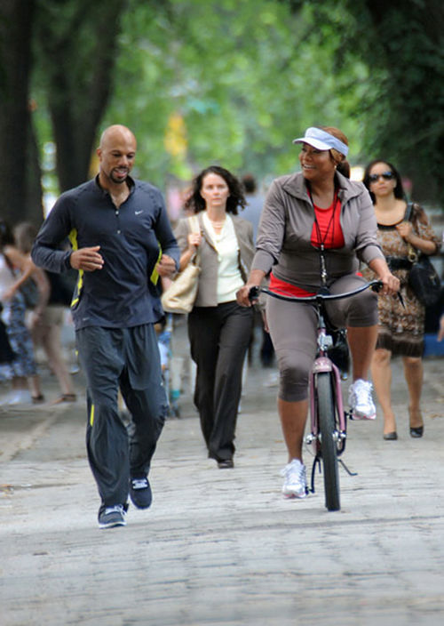 Common and Queen Latifah in Just Wright
