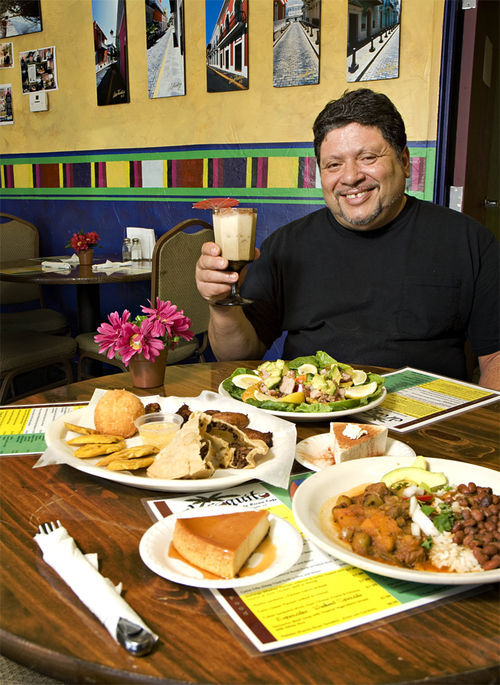 Chef-owner Jaime Acevedo serves up a taste of Puerto Rico's finest at El Coquito.