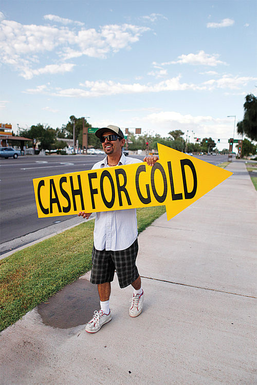 "The increase in ""cash for gold"" businesses across the Valley is the most visible local indication of recent record-setting gold prices."