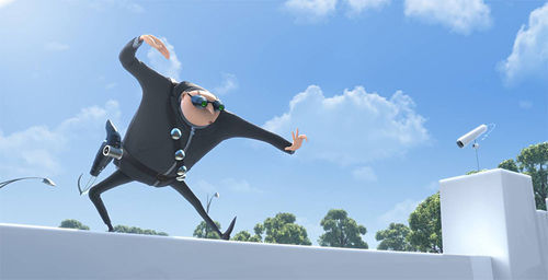 Toy Story antidote: Steve Carell supplies the voice of Gru in Despicable Me.