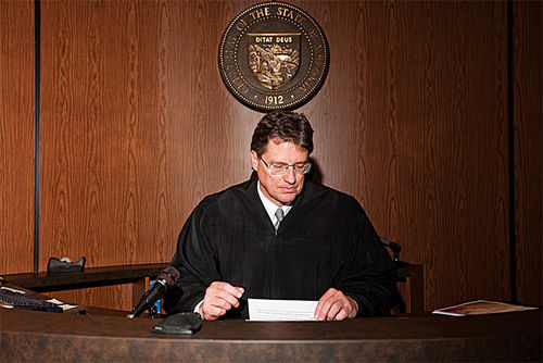 Superior Court Judge Michael Kemp took over the Lisa Randall murder case.
