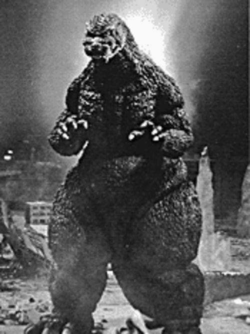 Godzilla as a young monster