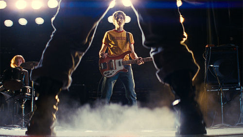 My Ramona: Michael Cera stares down a foe in Scott Pilgrim vs. the World.