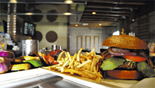 Stick to the burger: If The Vig has a buzz, it's not because of the food.