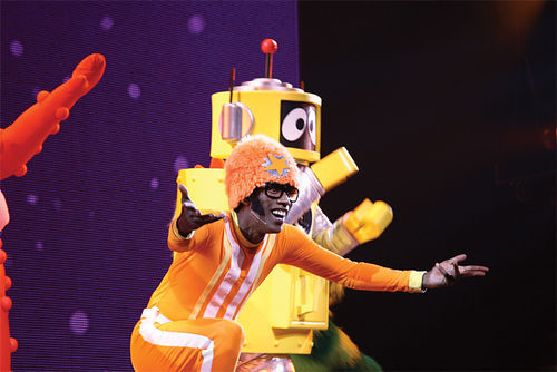 Yo Gabba Gabba!: Part of the appeal of the show and its host, DJ Lance Rock, is their lack of cynicism.