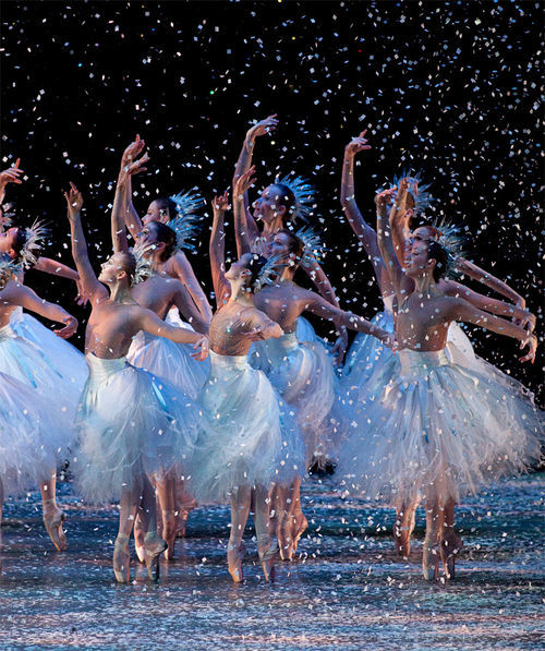 The falling flakes of Ballet Arizona's The Nutcracker help keep the company on ice.