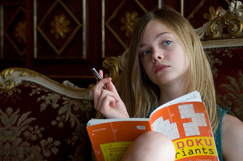 Hollywood nights: Elle Fanning steals the show in Somewhere.