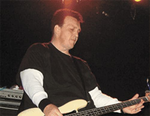 Adolescents bassist Steve Soto.