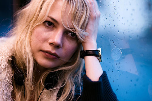 Michelle Williams in Blue Valentine.