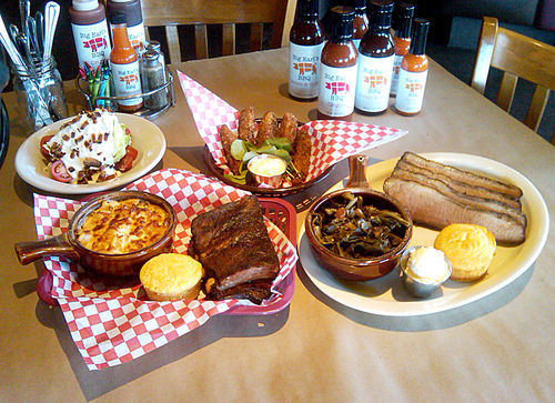 If you're going to Big Earl's BBQ, stick to the ribs.