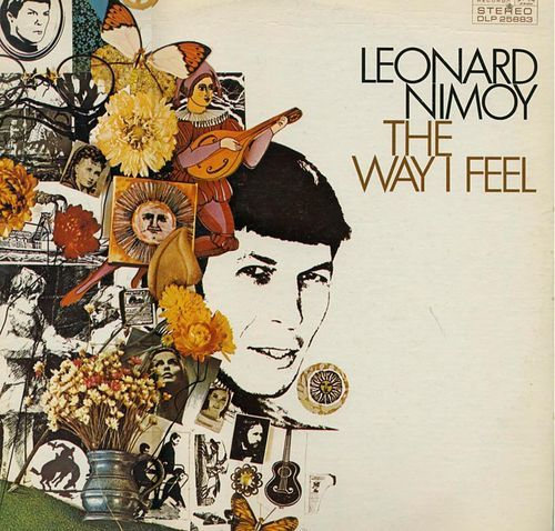 The cover of Leonard Nimoy's The Way I Feel
