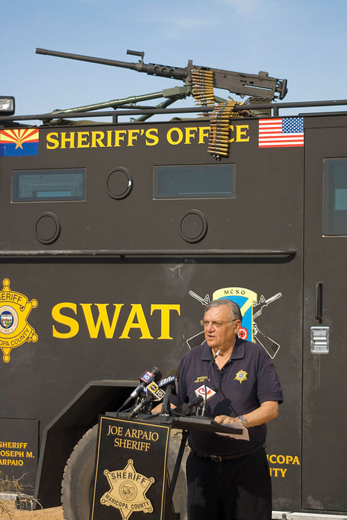 "Sheriff Joe Arpaio likes to portray himself as the commander-in-chief of his own army. When questions arose about alleged misconduct within his headquarters, though, Arpaio claimed he was ""fooled"" by his former right-hand man, Dave Hendershott."
