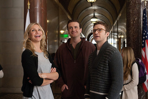 Hot for teacher: Cameron Diaz, Jason Segel, and Justin Timberlake star in Bad Teacher.