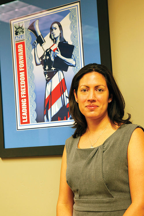Arizona ACLU attorney Victoria Lopez advocates for immigrants' rights.