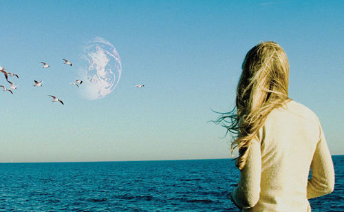 Brit pop: Brit Marling and the home planet's doppelgänger in Another Earth.