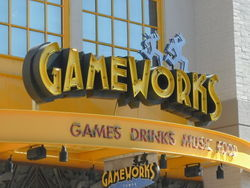 GameworksArizona Mills mall