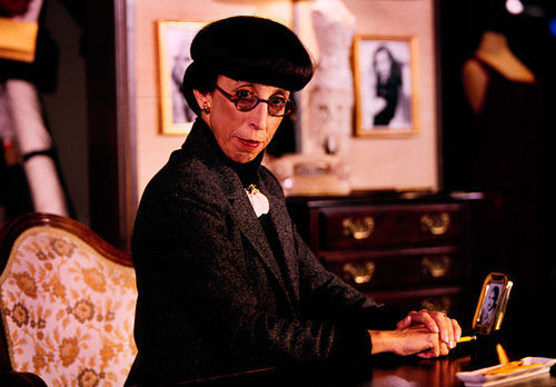 Susan Claassen is Edith Head.