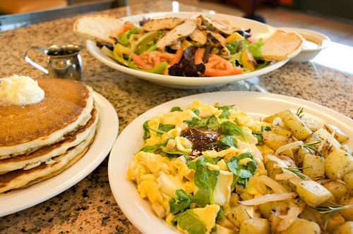 Perk Eatery delivers a satisfying selection of hearty breakfast and lunch fare.