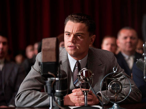 Undercurrent of nuttiness: Leonardo DiCaprio is surprisingly fitting as the former FBI head in Clint Eastwood's J. Edgar.