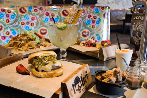 El Hefe's Sonoran-style menu features traditional favorites with a twist and a party-packed drink selection.