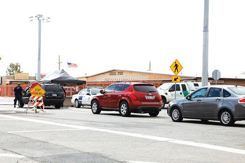 U.S. border checkpoints are especially vulnerable as customs officers deal with thousands of cars a day.