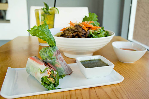 "The stylish Rice Paper's ""modern Vietnamese"" offerings aren't out to compete with the bare-bones Vietnamese eateries in the Valley."