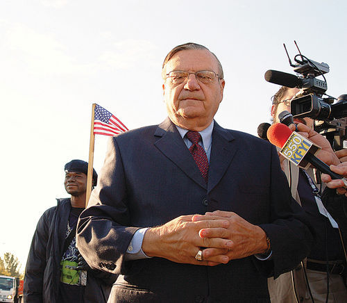 What Sheriff Joe Arpaio craves most: media attention — on his own terms.